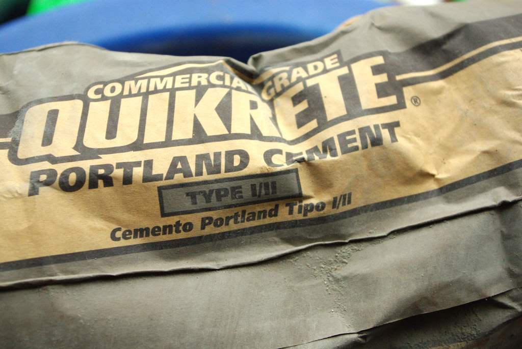 94 Lbs Bag Of Cement : It s not work gardening a project comes off the